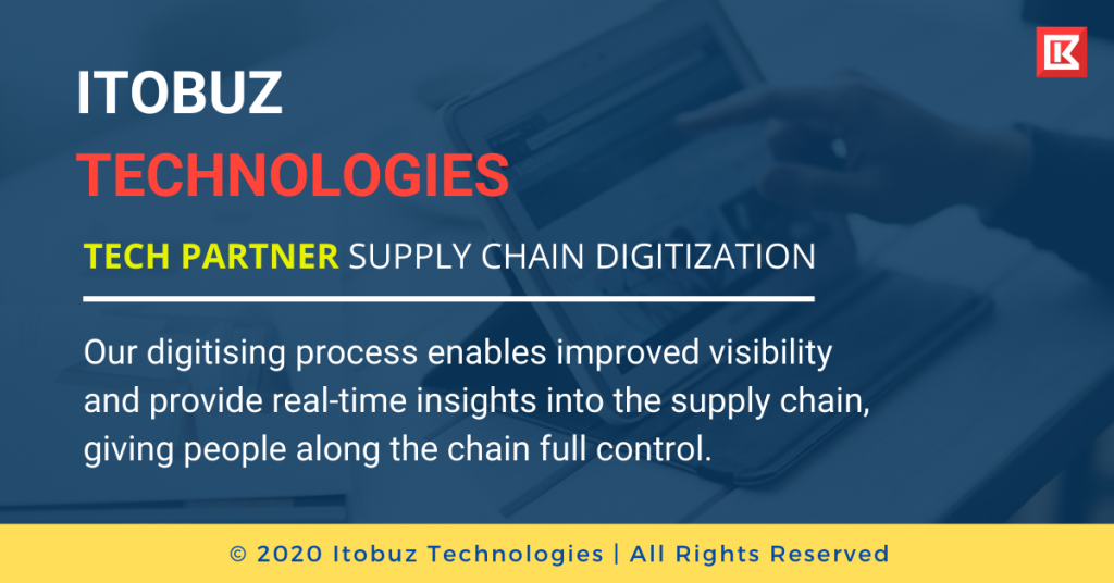 The world has gone online. Technology has permeated almost every aspect of human lives and supply chain management is no different. Although it's still at a nascent stage, the potential of supply chain digitization is immense and worth investing in for every company.