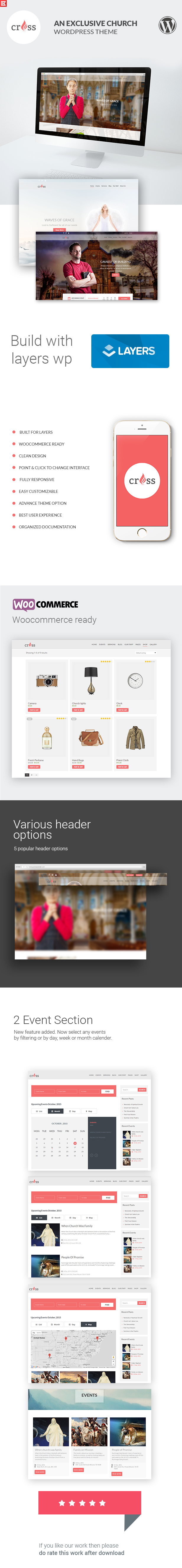 Cross | Church WordPress Template