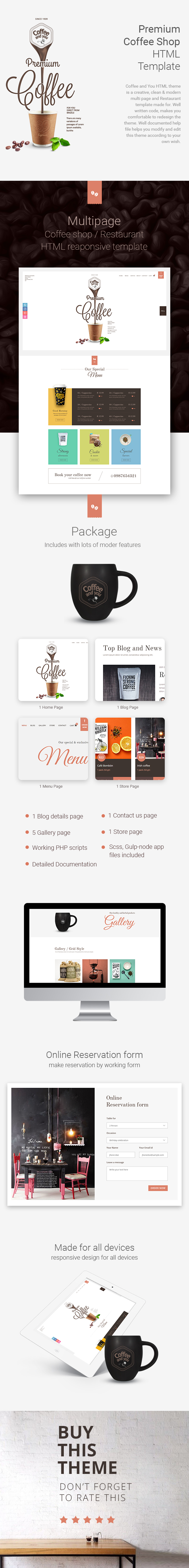 Coffee Shop | Multipage HTML Restaurant Template - 2