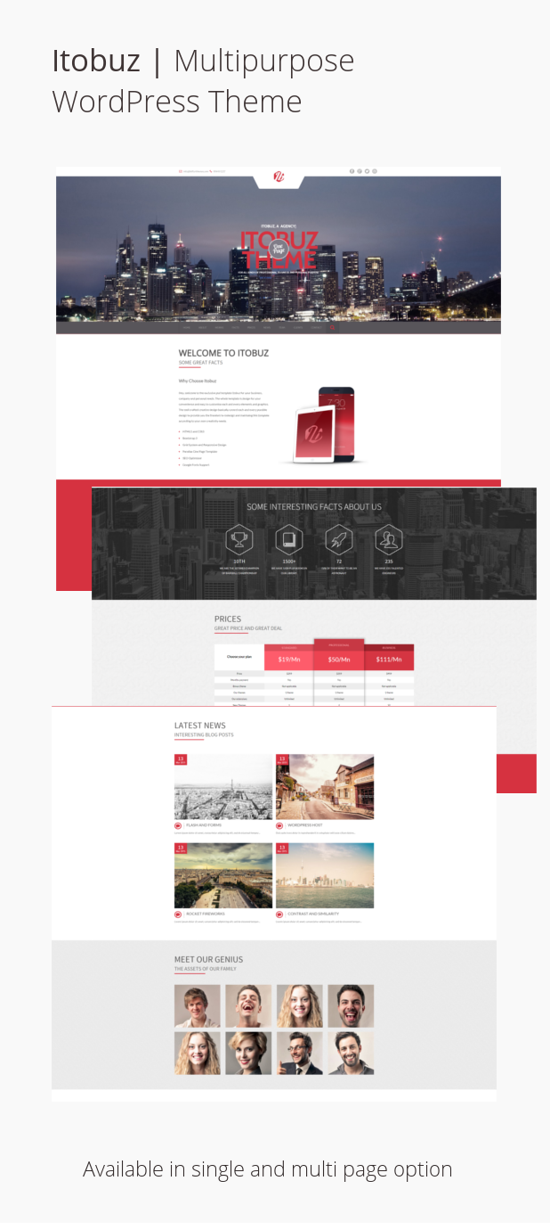 Itobuz | Multipurpose WordPress Theme